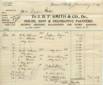 Receipt from J. B. F. Smith & Co. to Ogden Goelet