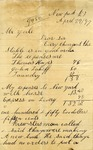 Letter from Thomas Hayes to John Yale