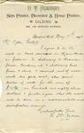 Letter from N. T. Hodson to Ogden Goelet