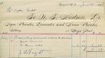Invoice from N.T. Hodson to Ogden Goelet, June 5 to 7