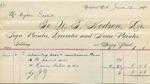 Invoice from N.T. Hodson to Ogden Goelet, June 11