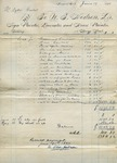 Receipt from N.T. Hodson to Ogden Goelet