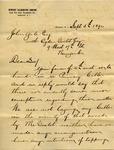 Letter from Newport Illuminating Company to John Yale