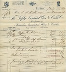 Invoice from The Safety Insulated Wire & Cable Co. by Safety Insulated Wire & CABLE Co. and C. O. Mailloux