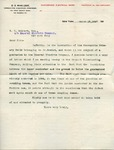 Letter from C. O. Mailloux to E. E. Gilbert, General Electric Company