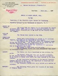 Report from C.O. Mailloux to Ogden Goelet, Esq., page 1