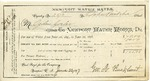Receipt from Newport Water Works