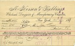 Receipt from McKesson & Robbins to Ogden Goelet