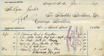 Receipt from Fludder Bros. to Ogden Goelet