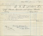 Receipt from N. T. Hodson to Ogden Goelet