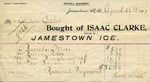 Receipt from Isaac Clarke to Ogden Goelet by Isaac Clarke