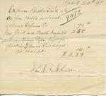 Invoice from John R. Johnson