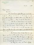 Letter from James H. Bowditch to Ogden Goelet