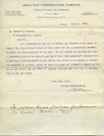 Estimate from Aberthaw Construction Co. to Ernest W. Bowditch by Aberthaw Construction Co.