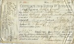 Receipt from William Angus to Ogden Goelet