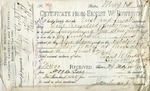 Receipt from James Sinclair & Co. to Ogden Goelet