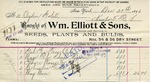 Receipt from Wm. Elliott & Sons to Ogden Goelet