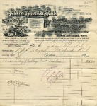 Receipt from Joseph Breck & Sons to Ogden Goelet