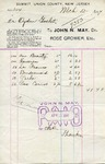 Receipt from John N. May to Ogden Goelet