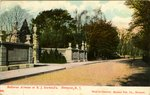 Bellevue Avenue at E. J. Berwind's. Newport, R. I.