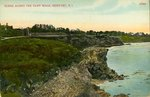 Scene Along the Cliff Walk, Newport, R.I.