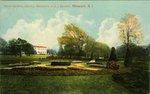 Italian Gardens, Showing Residence of E. J. Berwind, Newport, R. I.