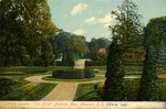 "Italian Garden, ""The Elms"" Bellevue Ave., Newport, R. I."