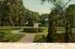 Italian Garden, The Elms, Bellevue Ave. Newport, R. I.