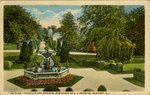 """Elms,"" Fountain and Gardens, Residence of E. J. Berwind, Newport, R. I."