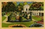 106: - Venetian Gardens and Tea House. Berwind Estate. Newport, R. I. by Berger Bros.