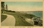Cliff Walk From The Forty Steps. Newport, R.I.