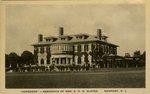 """""""Hopedene"""" - Residence of Mrs. E. H. G. Slater. Newport, R.I."""