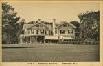 The R. I. Gammell Estate. Newport, R.I.