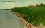 Along the Cliff Walk, Newport, R.I. by Tichnor Bros. Inc.