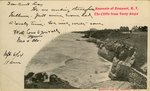 Souvenir of Newport, R.I. The Cliffs from Forty Steps