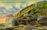 "Famous ""Forty Steps"" Along Cliff Walk. Newport, R.I."