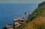 40 Steps At Cliff Walk Newport, R.I. by John M. Twomey Distributing Co.