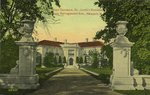 Main Entrance, Dr. Jacob's Residence from Narragansett Ave., Newport, R.I.