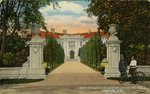 Main Entrance, Dr. Barton Jacobs Residence, Newport, R.I.