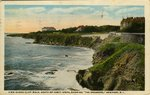 "View Along Cliff Walk, South of Forty Steps, Showing ""The Breakers,"" Newport, R.I."