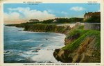 View Along Cliff Walk, South of Forty Steps, Newport, R.I.