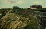 View of Cliffs from Forty Steps Newport, R.I.