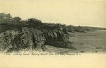 "Looking toward ""Bathing Beach"" from Cliff Walk, Newport, R.I."