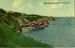 Along the Cliff Walk, Newport, R.I. by Tichnor Bros. Inc.