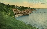 Cliff Walk showing the Cliffs, Newport, R.I.