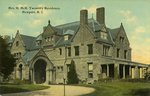 Mrs. H. McK. Twombley Residence, Newport, R.I.