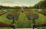 Newport, R.I. J.J. Van Allen's Sunken Gardens