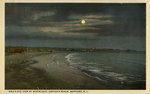 Bird's Eye View by Moonlight, Easton's Beach, Newport, R.I.