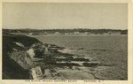Cliffs Toward Newport Beach, Newport, R.I.