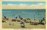 Surf Bathing at Newport Beach, Newport, R.I.